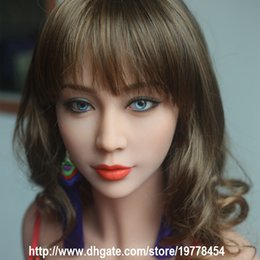 Wholesale Asian Sex Toys Silicone - New 163cm lifelike full silicone Japanese love doll toy for man metal skeleton sexy love product Asian TPE dark skin dropshipping Free shipp
