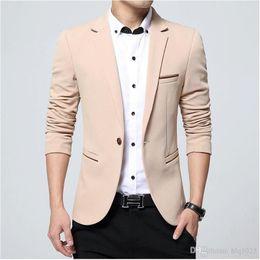 Wholesale Design Men Wedding Suit - Mens blazers 2017 mans suit jackets classic design wedding dress man blazers casual gold blazer masculino size m-5xl
