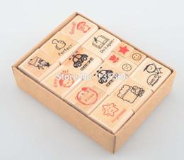 Wholesale Rubber Stamp Teacher - Wholesale- 15pcs lot english stamps cartoon pattern teacher comments encourage rubber stamp unique gift for kids E13