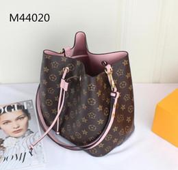 Wholesale Bowling Handbags - The classic floral print women's bag resl leather plus M canvas shoulder bag luxury Tassel women's handbag 2017 new