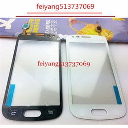 "Wholesale S7562 Galaxy S Duos Touch - 20pcs ORIGINAL by DHL EMS 4.0"" For Samsung Galaxy S Duos S7560 S7562 Touch Screen Digitizer Sensor Front Glass Lens"