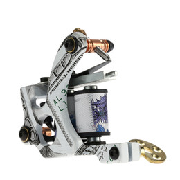 Wholesale Tattoo Machine Coil Motor - 10 Wraps Coils Tattoo Machine Shader & Liner Carbon Steel Rotary Assorted Tatoo Motor Gun Instrument Permanent Makeup Tools