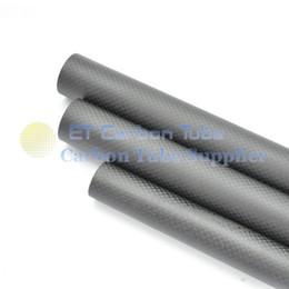 1-4pcs 3K TUBE DE FIBRE DE CARBONE OD 28mm X ID 26mm X Longueur 1000mm Enroulé tuyau 28 * 26 ? partir de fabricateur