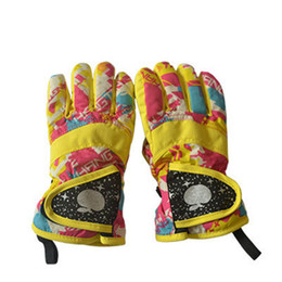 Wholesale Winter Gloves For Babies - Winter Ski Gloves Kids Windstopper Waterproof Breathable Children's Mittens Outdoor Sports Snowboard Skiing Gloves for Baby
