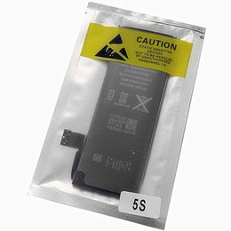 Wholesale Iphone 5s Battery Wholesales - 0cycle 1560mAh Mobile Phone Battery Replacement For Apple Iphone 5S battery For iphone 5C Free Fedex UPS Shipping