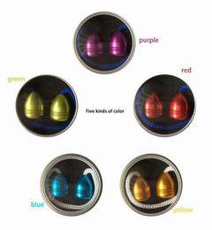 Wholesale Fluorescent Beads - Machined Begleri Fidget Beads 5 Color Thumb Chucks Aluminum Alloy EDC Glow in Dark Fluorescent light ADHD Anti Stress Novelty Toys