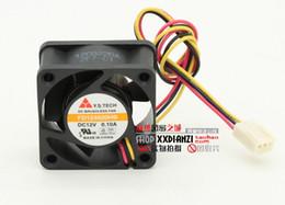 Wholesale 4cm Fan - new original Y.S.TECH FD124020EB 12V 0.12A FD124020HB-H 4020 4CM ball bearing cooling fan