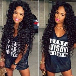 Wholesale Brazilian Deep Wavy - Brazilian Water Wave Virgin Hair 4 Bundles 8A Grade Unprocessed Wet and Wavy Malaysian Peruvian Human Hair Deep Wave Body Wave Hair Weave