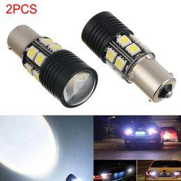 Wholesale P21w Led White Canbus - 2 X Canbus 1156 BA15S P21W LED Car Tail Backup Reversing Light Bulb 360 Degree 600LM White 6000K Lamps CLT_06I