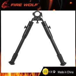 Wholesale 2017 New quot to quot Adjustable Hunting Tactical Rifle Bipod Fits for Most mm to mm Barrels