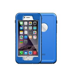 Wholesale Ipx8 Waterproof Case - 100% IPX8 Waterproof case for iphone 6 6S 4.7inch Ultral Thin for Shock proof defender cases PC + TPU cover Retail package Free shipping DHL