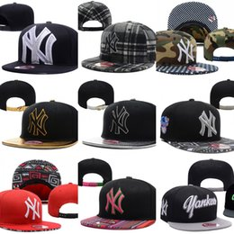 Wholesale Snapbacks Yankees - Hot Sales New York Yankees Baseball Cap Embroidered Team logo Fitted Cap Sport Fit Hats Colorfull Free Shipping