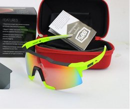Wholesale Outdoor Cycling Glasses - American Brand 100% SpeedCraft Outdoor Sports Bicycle Sunglasses bicicleta Gafas ciclismo MTB Cycling Glasses Eyewear