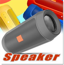 Wholesale Mini Bluetooth Usb Dhl - Bluetooth Speakers Subwoofer Speaker Wireless Bluetooth Mini Speaker Charge 2+ Deep Subwoofer Stereo Portable Speakers WITHOUT LOGO DHL