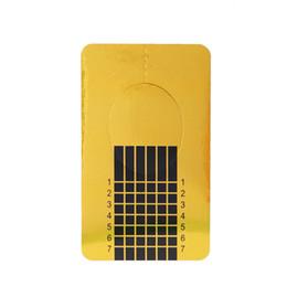 Wholesale Buy Paper Wholesale - Wholesale- On Sale Limit buy 100pcs Square Nails Form Sticker Nail Paper Holder for UV Gel Nail Manicure