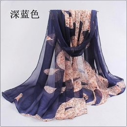 Wholesale Hijab Selling - Wholesale-scarf women hijab the new 2016 cotton scarf han flowers dribs and scarves quality goods printed chiffon hot sell beach silk