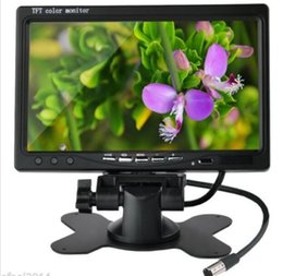 "Wholesale Car Dvd Monitors - 7"" TFT LCD Car Reverse Rearview Monitor Remote Control For Backup Camera DVD"