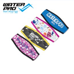 Wholesale Neoprene Mask Cover - Wholesale- Water Pro New Neoprene Mask Strap Cover  Wrapper Two Sides Use for Underwater Scuba Diving Snorkeling Accessories FREE SHIPPING