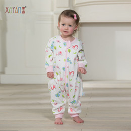 Wholesale Bags For Children Clothes - 2017 fashion beautiful high quality Character cotton sleeping bag Spring and Autumn new baby children for cold weather unisex small size