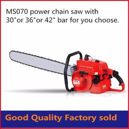 Wholesale Air Gas - 105cc MS070 petrol chain saw wood cutting machine 36inch guide bar