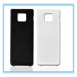 Wholesale Sii Cover - New Rear Back Cover Door Battery Cover Case For Samsung Galaxy S2 SII I9100 Cellphone Body Repair Replacement Parts Faceplate Panel Frame
