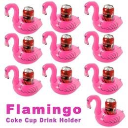 Inflável Flamingo Coasters legal piscina ao ar livre banho kiddie piscina brinquedos rosa de