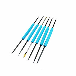 Wholesale Electric Soldering Set - 6X Professional Solder Assist Steel Repair Tools Set Electric Tool Hot Sale Free ShippingV1NF
