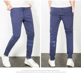Wholesale Harem Pants Usa - 2017 USA European Style Men pants Joggers casual active pants men's Jogger Harem Pants men sweatpants trousers