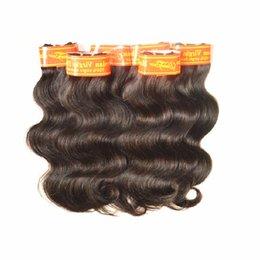 Wholesale Dhgate Unprocessed Malaysian Hair - DHgate hair supplier Wholesale 7A Malaysian Virgin Hair Body Wave 2Kg 40Bundles Lot Natural Color Black Brown Origninal Unprocessed