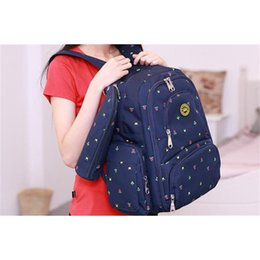 Wholesale Jacquard Fabric For Sale - 2017 HOT SALE Mummy Maternity Diaper Bag Brand Large Capacity Baby Bag Mom Backpack Desinger Nursing Bag for Baby Care Mochila Feminina