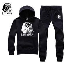 Wholesale Tyga Hoodies - 2017 Men Brand Name Clothes Autumn Winter Man Last Kings Hiphop Sweatshirt Street Fashion Tyga Last Kings Hoodies sweats jumper