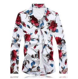 Wholesale Formal Shirt Dress Men - 2017 Brand New Men Shirt Male Dress Shirts Men's Fashion Casual Long Sleeve Business Formal Shirt camisa social masculina