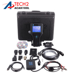 Wholesale Interface Boxes - GM TECH2 scanner support 6 software Full set diagnostic tool For Vetronix gm tech 2 with candi interface gm tech2 with box free shipping