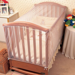Wholesale Netting For Canopy - Wholesale-Clippasafe Baby Crib Cot Insect Mosquitoes Nets Tent Infant Bed Folding Crib Netting Canopy for Child Baby in stock