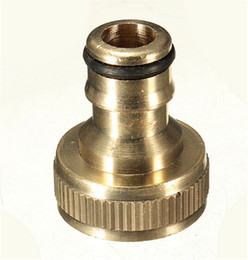 "Wholesale Tube Male Thread - XNEMON Water Pipe Connector Tube Tap Adaptor 3 4"" Male Brass Threaded Hose Fitting For Garden Watering Tools"