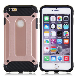 Wholesale Shockproof Waterproof Iphone Cover - 1 pc 2 in 1 TPU with PC shockproof waterproof case cover for iphone 4 5 6 6 iphone 7 plus galaxy S5 s6 edge s7 s7 edge plus note 5 7