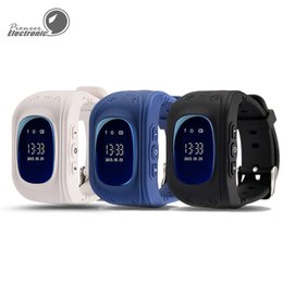 Wholesale Double Dial Watches - New Colors Q50 Kids Smart Watch GPS LBS Double Location Safe Children Watch Activity Tracker SOS Card for Android and IOS