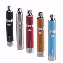 Wholesale Wholesale Wax Vaporizers - Yocan Magneto Kit 1100mAh Battery Magnetic Coil Cap Built-in Silicone Jar Ceramic Coil Wax vaporizers Pen VS evolve plus