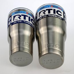 Wholesale Big Cool Cars - Newest RTIC Cups Tumbler Cups Car Cups Stainless Steel Sharp as YT Mugs 30oz 20oz Cooler Bilayer Insulation Water Bottles Mugs free shipping