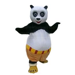 Wholesale Halloween Costumes Kung Fu Panda - High quality kung fu panda Mascot Costume Popular Cartoon Character Costume For Adult Fancy Dress Halloween carnival costumes