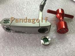 Wholesale R 33 - Golf Putter Clubs Money Maker New port 2.0 Weight 20g steel shaft 33 34 35 Inch golf clubs Putter With Head Cover