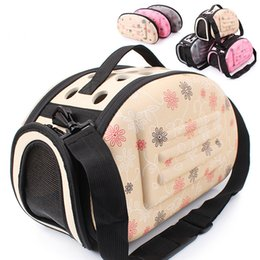 Wholesale Dog Carriers Sling Bags - Dog Carrier Puppy Portable Travel Tote Pet bag EVA bags Shoulder Breathable Outdoor Backpack Folding Comfortable Zipper Pet House