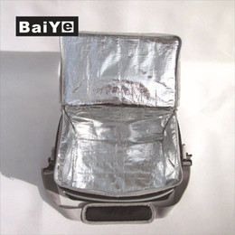 Wholesale Isothermic Bag - Summer Portable Travel Camping Outdoor Picnic Ice Bag Pack Thermal Insulated Tote Lunch Pizza Beer Cooler Bag Car Isothermic Handbag