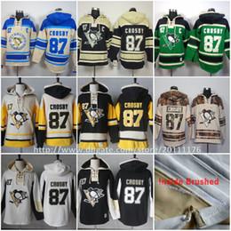 eecb90fc7  87 Sidney Crosby Ice Hockey Hoodie Pittsburgh Penguins Men s Hockey  Hoodies Sweatshirt Old Time Hockey Hoodies discount pittsburgh penguin  hoodie