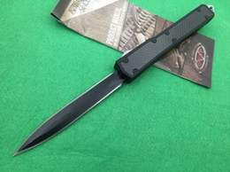 Wholesale 9 models microtech Makora II T6 D2 tanto drop snake blade with tool Hunting Pocket Knife Xmas gift for men