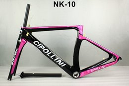 Wholesale Giant Carbon Bike Frames - 2016 new Cipollini NK1K T1000 1k or 3K racing full carbon road frame bicycle complete bike frameset sell S3 S5 R5 C60 795 giant merida time