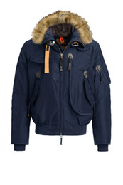 Wholesale Thick Men Crosses - 2017 Hot Sale Luxury Parajumpers men's gobi down Jacket Hoodies Fur Fashionable Winter Coats Warm Parka Free shipping