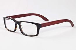 Wholesale Square Clear Plastic Boxes - 2017 new designer Brand logo mens sunglasses women buffalo horn glasses with box Classic Gafas de sol Goggles Processing
