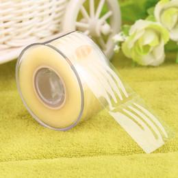 cinta adhesiva para párpados Rebajas Venta al por mayor-300 par adhesivo invisible ancho / estrecho doble párpado pegatina de cinta de maquillaje 2016 de alta calidad