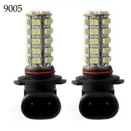Wholesale Day Driving Led Bulb Car - 2pcs 9005 68SMD Car 3528 LED White Bump Fog Head Day Driving Light Lamps